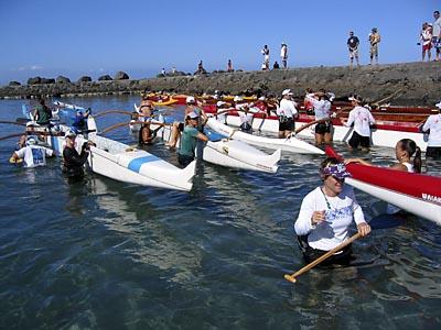 Kawaihae Long Distance Canoe Race