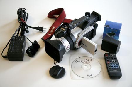 Canon GL-1 camcorder
