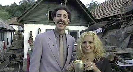 Borat Clip