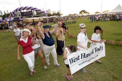 West Hawaii Today relay team