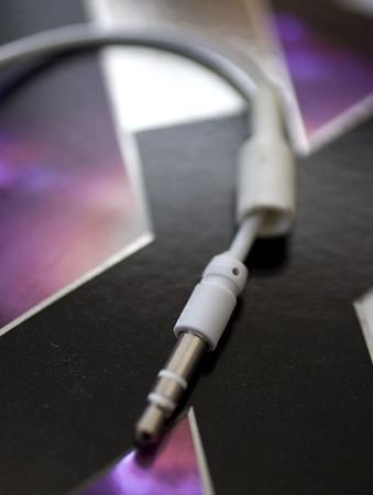iPod headphone jacket off