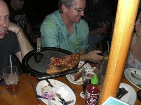 Brendan razzle dazzles with his iPhone 3G.