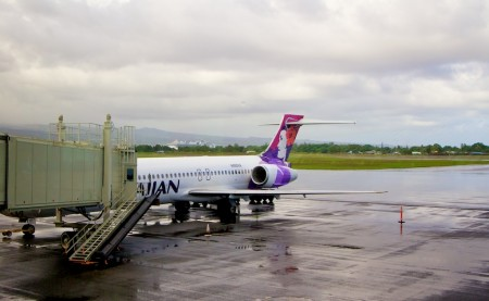 At Hilo International Airport Thursday, December 22, 2011