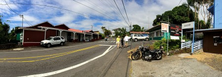 Panorama of Holualoa town.