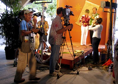 Backstage at Merrie Monarch Festival