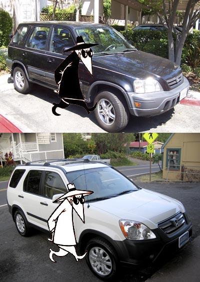 CR-V Spy vs Spy