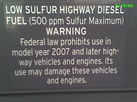 Chevron Diesel