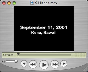 9/11 in Kona