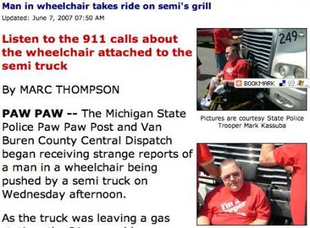 Wheelchair Roadie