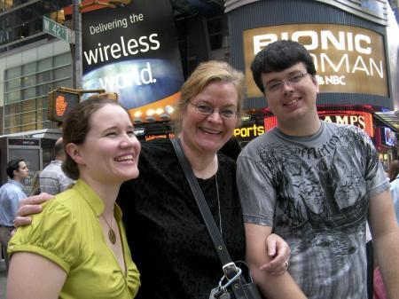 Gabi, Jeanne and Trevor