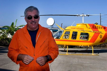 Terry K. with Chopper 2