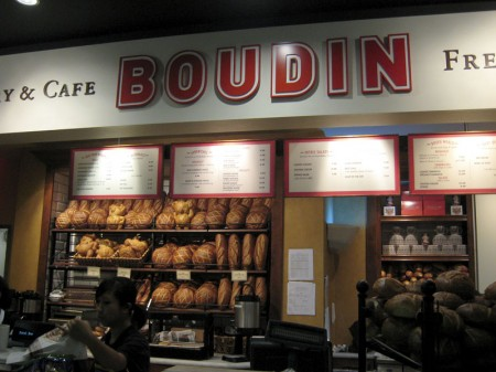 Boudin Cafe at SFO