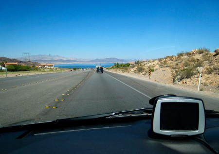GPS and Lake Mead