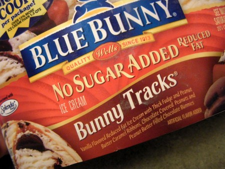 Bunny Tracks ice cream