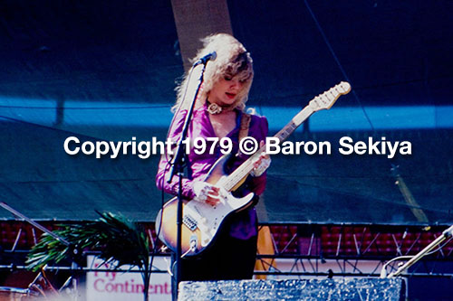 Nancy Wilson Copyright © 1979 Baron Sekiya