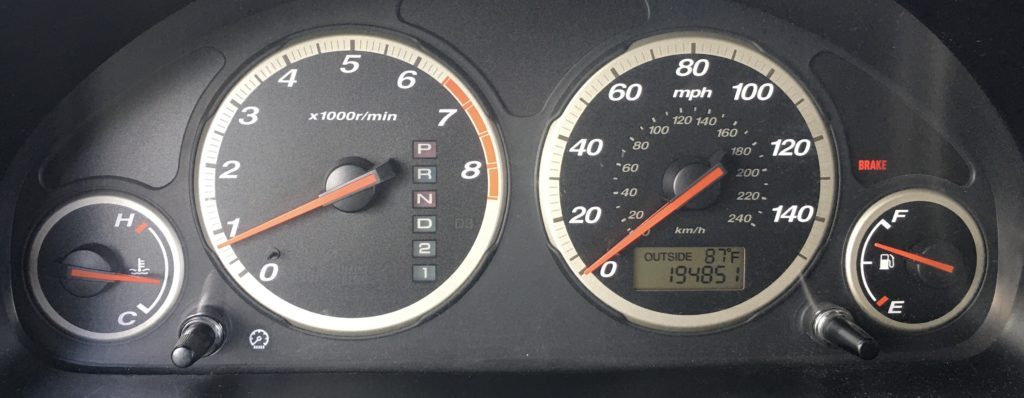 Honda CR-V Parking brake engaged, and BRAKE light ON